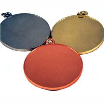 Medal Blank 50mm and clear dome